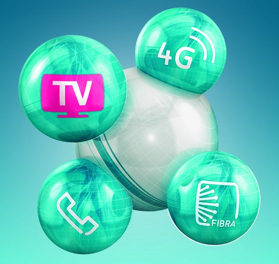 Mejor tarifa convergente fijo + internet + movil + television junio 2014