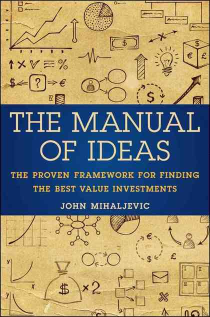 The manual of ideas foro