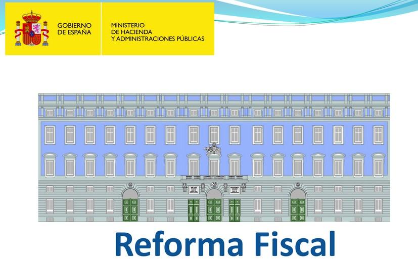 Reforma Fiscal rendimientos trabajo ejemplos
