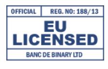 licencia banca de binary