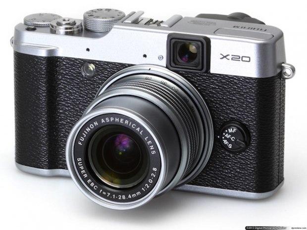 Mejores camaras de fotos. Fujifilm X20