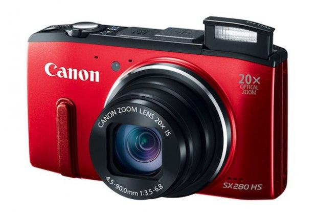 Mejores cámaras de fotos. Canon PowerShot SX280 HS