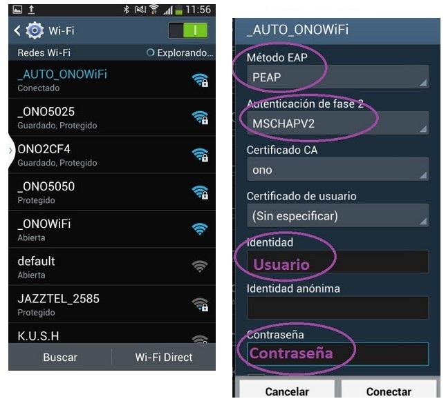 Configurar la red Ono Wifi