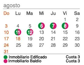 Calendario vencimientos agosto 2014 arba foro