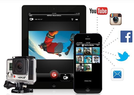 GoPro aplicación