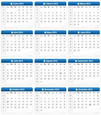 Calendario laboral 2015 foro