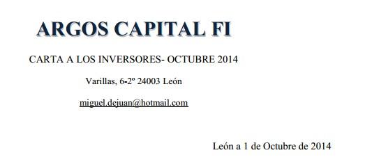 Argos Capital FI