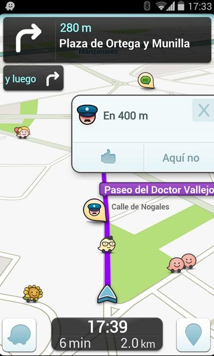 Mejores aplicaciones coche: Waze