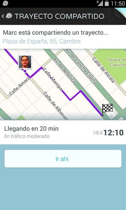 Mejore aplicaciones cohe: Waze