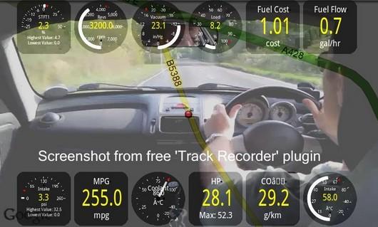Aplicación coche Torque