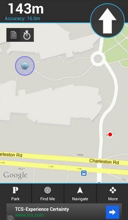 App para coche: My car location
