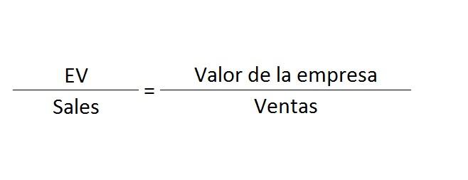 enterprise value to sales