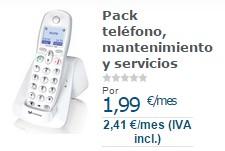 Mejor tarifa teléfono fijo noviembre 2014: Movistar