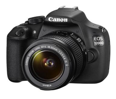 Mejores cámaras reflex para principiantes: Canon EOS 1200 D