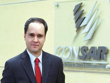 Carlos Ramírez, presidente de Consar