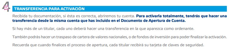 Transferencias Cuenta Self