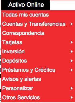 Opciones Activobank