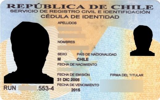 Bloqueo cédula de identidad