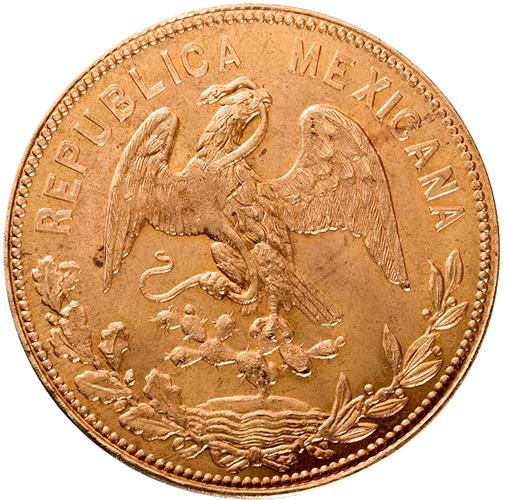 Medallas de oro Año Hidalgo