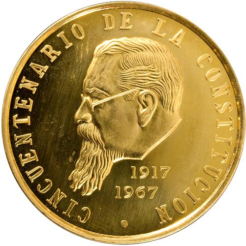 Medalla Constitución 1917