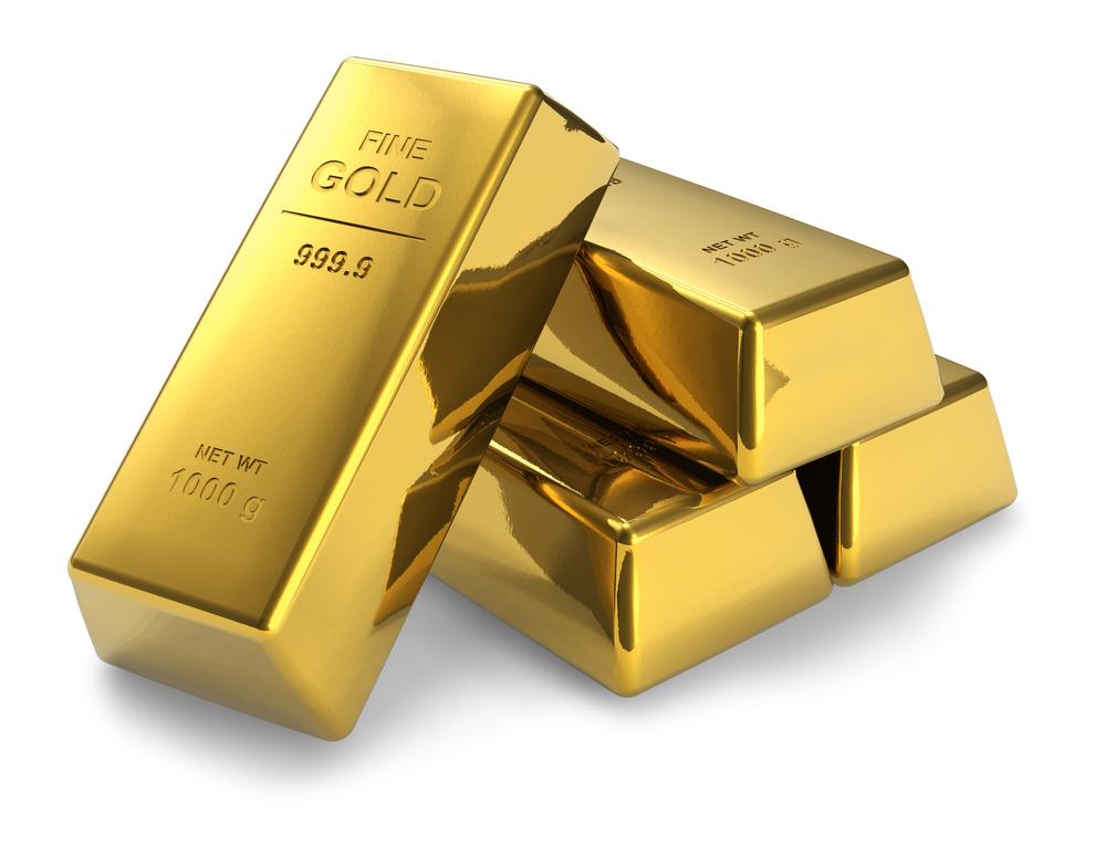 Lingote certificado de oro físico