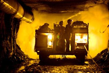 Acciones de mineras