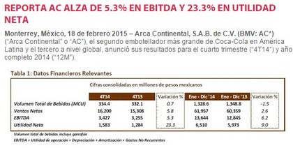 Datos Financieros AC
