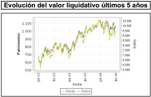 Valor liquidativo Bankia Bolsa Española