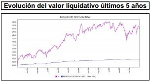 Valor liquidativo Banco Madrid Ibérico Acciones