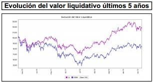 Valor liquidativo Gesconsult Renta Variable