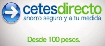 Invertir en Cetes Directo desde 100 pesos