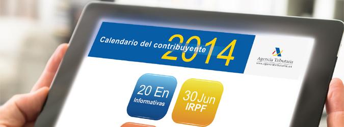 inicio campaña renta 2014