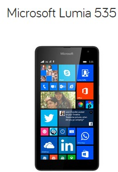 Mejores tarifas marzo internet, fijo y móvil microsoft lumia 535