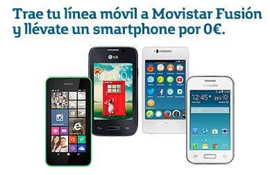 Smartphones gratis Movistar mejores tarifas internet, fijo y móvil marzo 2015