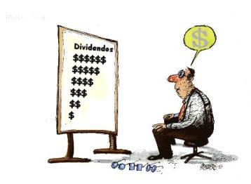 cobro de dividendos