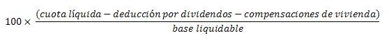 Cálculo dividendos extranjero