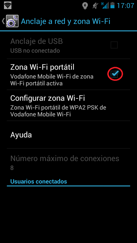 ¿Cómo usar el móvil como router? Android Zona WiFi