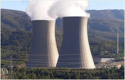 Torres de Refrigeración de la Central Nuclear de Cofrentes (Valencia)