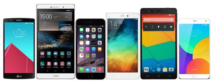 Mejores phablets del mercado del momento Smartphones más de 5 pulgadas