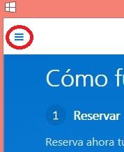 Cancelar reserva windows 10