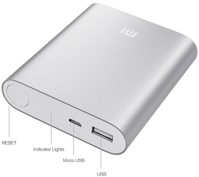 Xiaomi Powerbank 10.400
