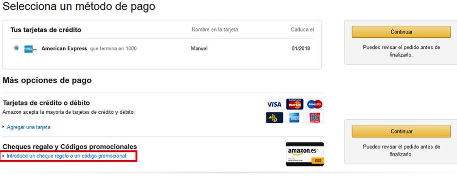 Aplicar Codigo Promocion Amazon