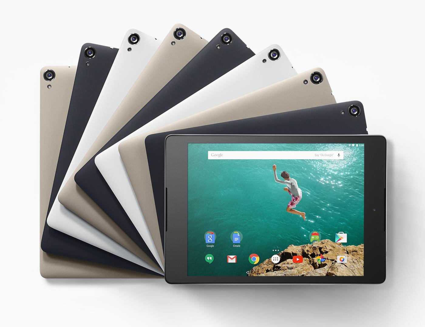 mejores tablets 2015 Nexus 9