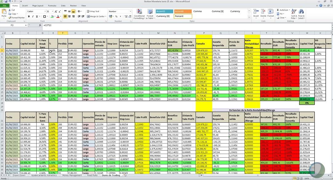 CMC Excel
