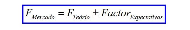 Fórmula cálculo futuro