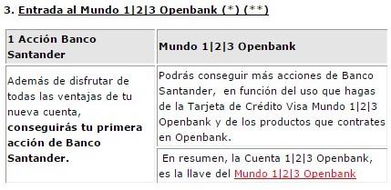 Openbank Cuenta 123