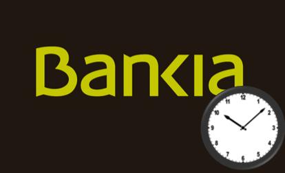 Horario Bankia