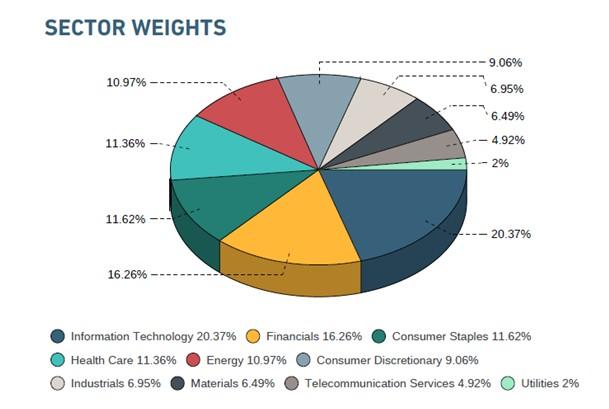 Sectores del MSCI - India