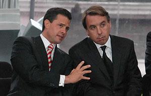 Peña Nieto y Emilio Azcárraga 2 millones más de pobres, menos pensiones y desempleo