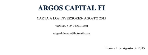 Carta Argos Capital